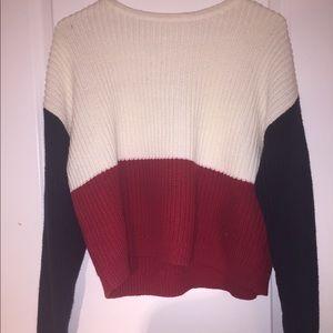 pacsun la hearts knit sweater